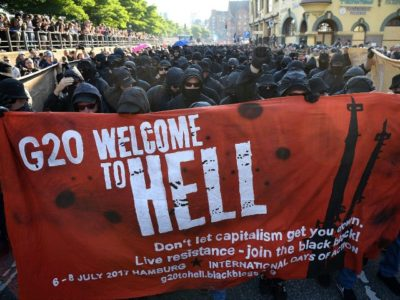 PICS: Thousands of Leftist Extremists Rampage in G20 'Welcome to Hell' March