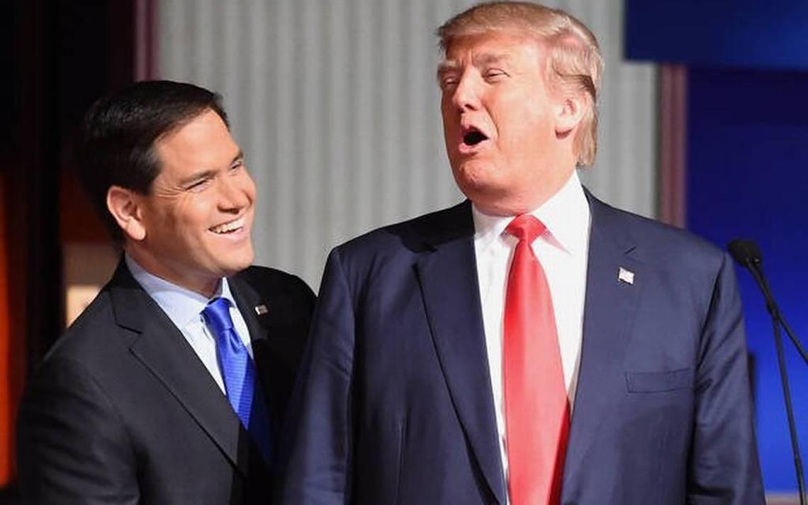 Rubio y Díaz-Balart presionaron a Trump sobre Cuba