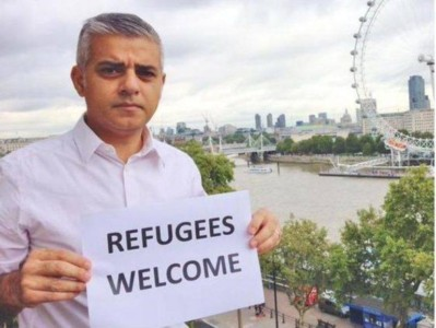 Muslim Mayor of London Declares New 'Knife Control' Policies as Fatal Stabbings Soar.