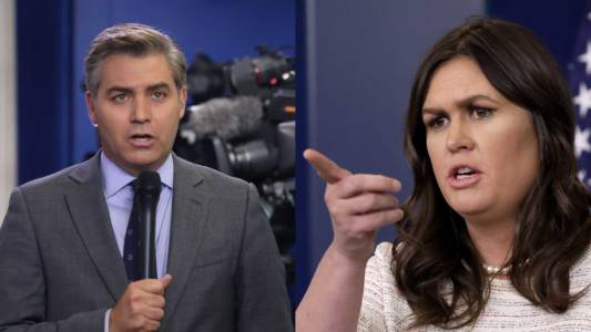 WATCH: CNN's Acosta Goes After Sarah Sanders. She Destroys Him.