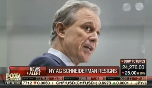 "Napolitano: AG Schneiderman Was Member of Deep State ""Secret Society"" Meetings to Take Down Trump (VIDEO)"
