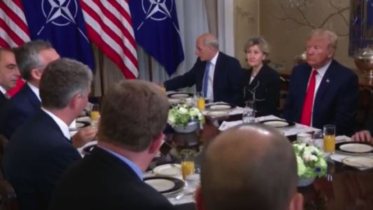 President Trump Confronts NATO Free Riders