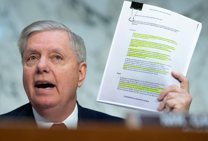Sen. Lindsey Graham (R-S.C.), chairman of the Senate Judiciary Committee. (Getty Images)