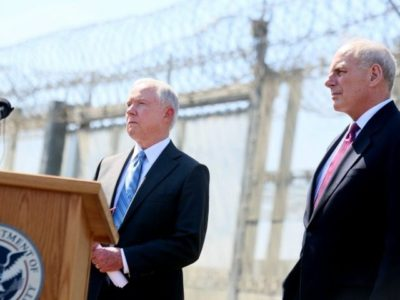 'Finally an Administration That Will Enforce the Law': Remembrance Project 'Encouraged' After Sessions, Kelly Border Visit.