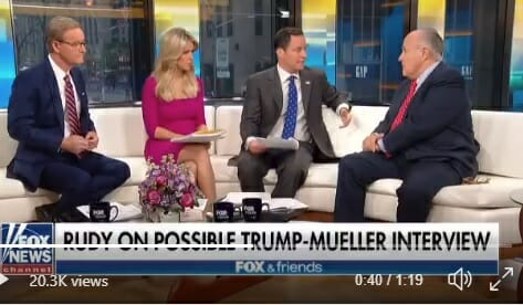 Rudy Giuliani: The Basis for the Mueller Case is Dead – Sessions Should Step in and Close It.