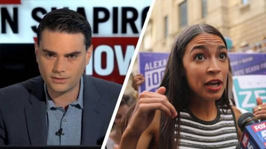 Ocasio-Cortez Refuses To Respond To Shapiro's $10K Debate Offer.