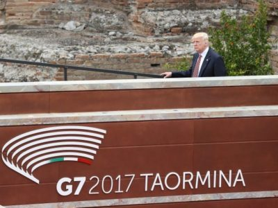 At G7, Trump Diverts Agenda Away from Climate and Toward Islamist Terrorism – AUDIO