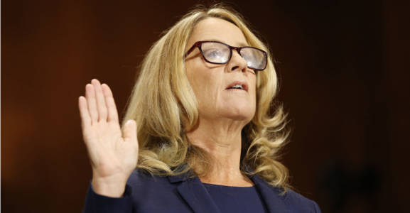 7 Inconsistencies or Gaps Identified by Christine Blasey Ford's Questioner.