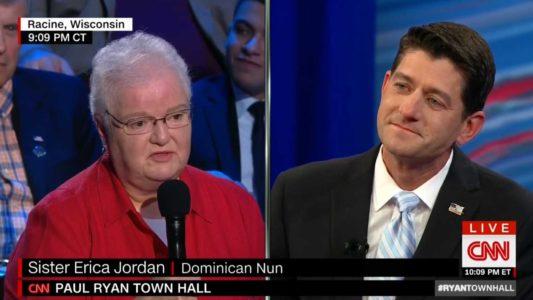 CNN Deploys Nun To Push Socialism – VIDEO