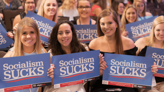 Newsweek Mocks Trump for Stance Against Socialism