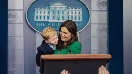 NOT FAKE NEWS: Sarah Sanders Is One Of The 10 Most Admired Women In America.