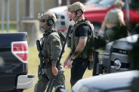 Explosives found after Texas high school shooting.