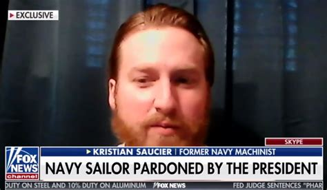 Ex-Navy sailor pardoned by Trump says he's suing Comey and Obama.