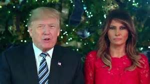 President Trump and First Lady Melania Release Beautiful Christmas Greetings Video