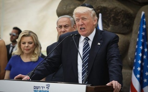 Trump on Holocaust day: Americans have 'moral obligation' to fight anti-Semitism.