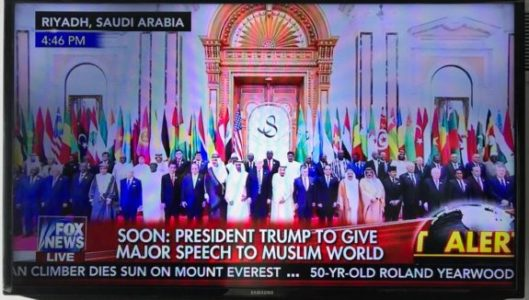 "Trump to 50 Muslim Leaders: ""Drive Out the Terrorists!… Drive Them Out! Drive Them Out!"" (Video)"