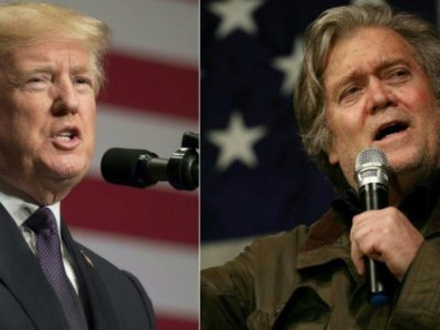 Steve Bannon Issues Statement: My Support Is 'Unwavering' for Trump and His Agenda.