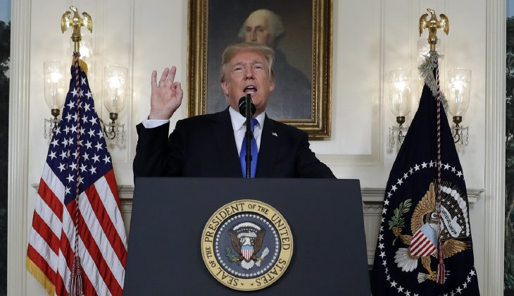 Trump designates Iran Revolutionary Guard Corps as aterrorist group, calls for more sanctions