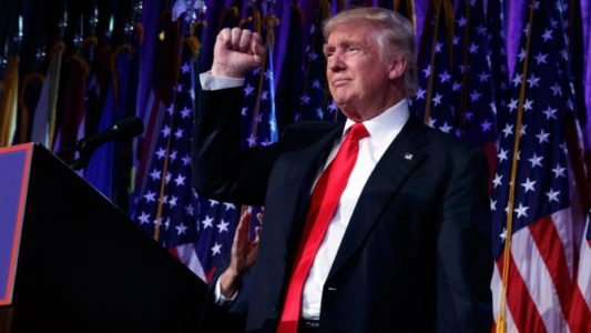 One Year Ago Today => God Emperor Trump Wins in Landslide and Liberal Tears Flowed Like a River (Video)