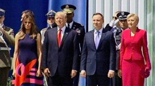 "Polish Crowd Chants ""USA! USA!"" and ""Donald Trump! Donald Trump!…"" Before Trump Speech in Poland! (VIDEO)"