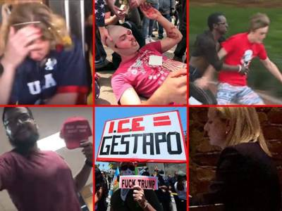 Rap Sheet: ***190*** Acts of Media-Approved Violence and Harassment Against Trump Supporters.