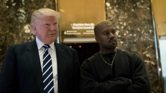 Trump Is Proud Of Kanye West For 'Sticking To His Guns'
