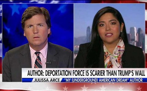 Ex-Illegal Tried To Convince Tucker Trump's Wall Is 'A Symbol Of Hate' — She Quickly Found Out That Was A Dumb Idea.