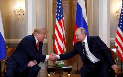 'The Time Has Come To Talk About Our Relations': Trump Sits Down With Putin In Finland