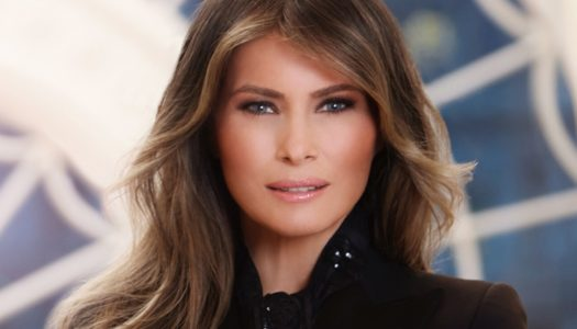 White House Releases Melania Trump's Official Portrait