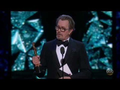 One Actor Thanked America in Oscar Speech — And He's British.