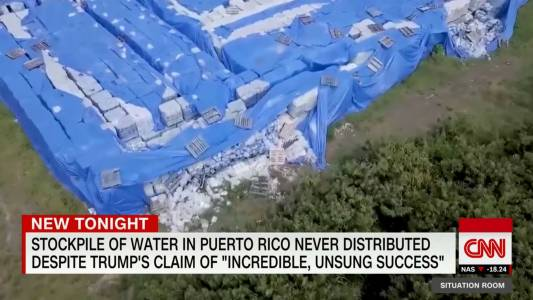 Millions Of Water Bottles Found Rotting In Puerto Rico As San Juan Mayor Continues To Bash Trump.