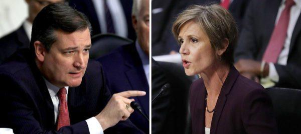 WATCH: Cruz Battles Yates Over Trump's 'Travel Ban'